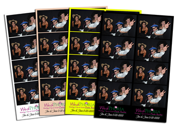 Photo Booth Strip Samples