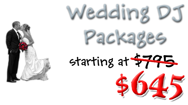 Wedding Receptions starting at $645