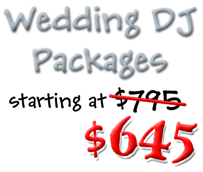 Wedding DJ $545