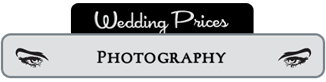 Photography Wedding Pricing