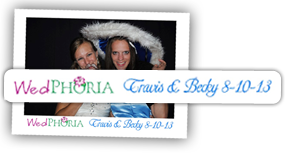 Custom Photo Booth Text Personalization