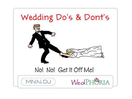 Wedding Do's and Dont's