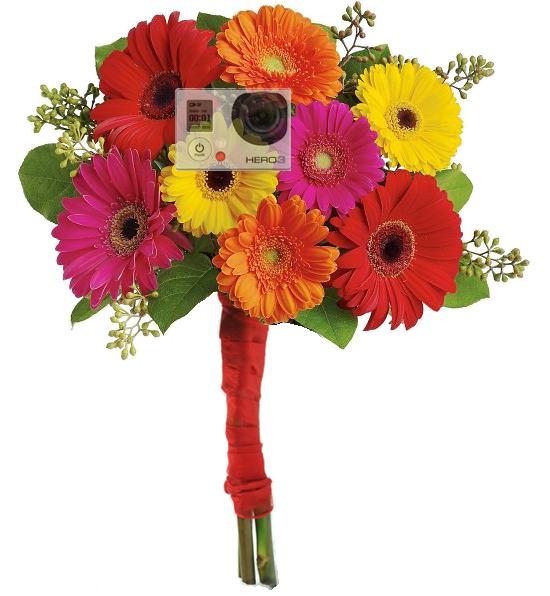 Wedding Bouquet Hidden Cam